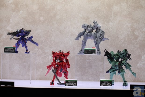 【WF2015冬】『デート・ア・ライブ』や『Fate』のほか、ロボットアニメやアメコミからも続々商品化! ワンダーフェスティバル2015[冬]コトブキヤブースをフォトレポート!その2-11