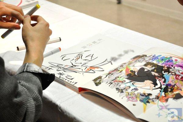 『京騒戯画』原画展示会&林祐己さんによるサイン会レポート