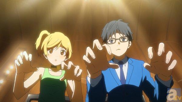 テレビアニメ『四月は君の嘘』#18より先行場面カット到着