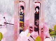 """三日月宗近、加州清光を桜酒として堪能できる! """"鍛刀""""シーンをイメージした『刀剣乱舞-ONLINE- 桜酒』数量限定で販売"""