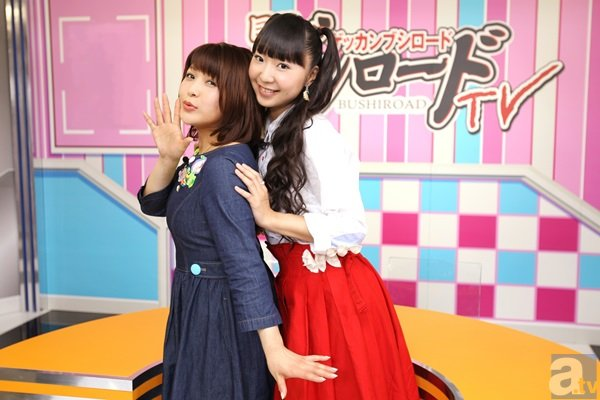 「月刊ブシロードTV」新MCは橘田いずみさんと新田恵海さん!