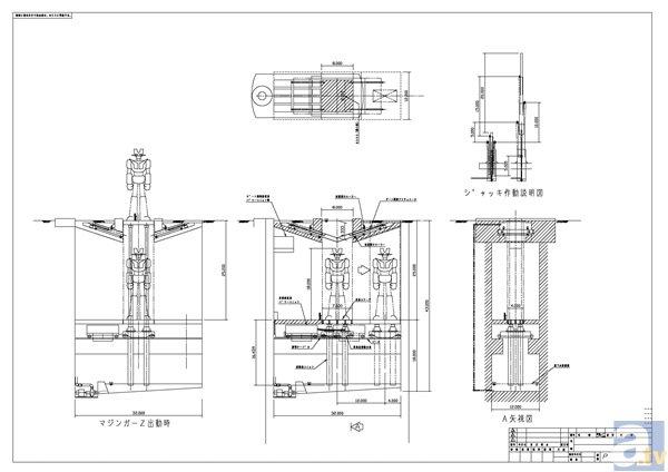 ▲2003年当時の建設設計図