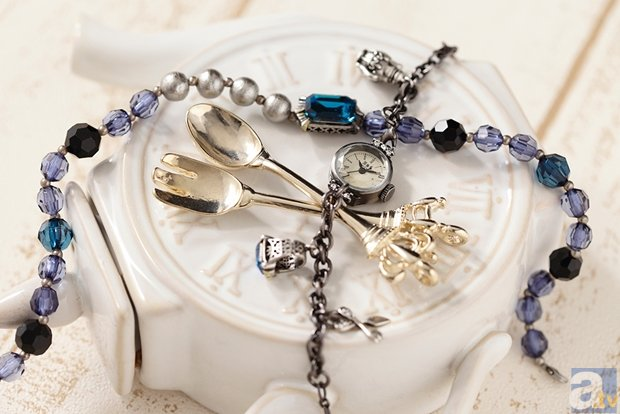 『黒執事』から、シエルとセバスチャンをイメージした腕時計が登場