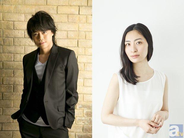 ▲左から浪川大輔さん、坂本真綾さん