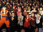 """野沢雅子さんや、堀川りょうさんら大御所声優陣に加え、主題歌を歌う""""ももクロ""""一同も特別衣装で駆けつけた『ドラゴンボールZ 復活の「F」』レポート"""