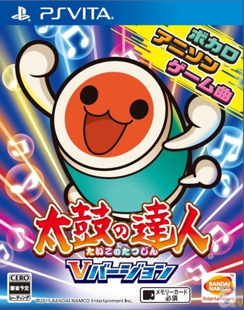 アイマスCG、ハイキュー!!、初音ミクなど80曲以上を収録したPS Vita『太鼓の達人 Vバージョン』7月9日リリース!
