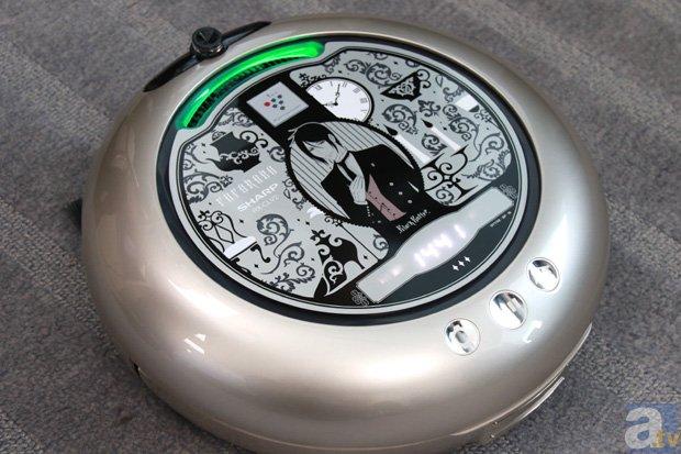 SHARPのロボット掃除機が『黒執事』とコラボ!