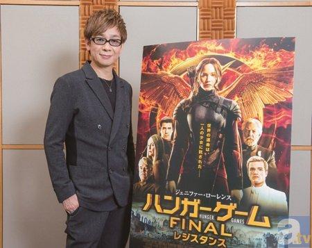 『ハンガー・ゲーム』声優・山寺宏一さんが作品の魅力を徹底解説