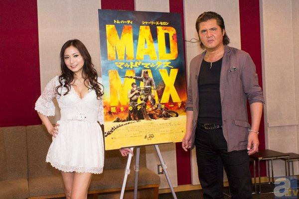 『マッドマックス』日本語版の竹内力さんとたかはし智秋さんに直撃