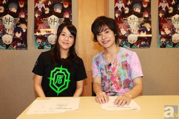 岡本さん&村中さんによる『ワールドトリガー』のWeb番組配信決定