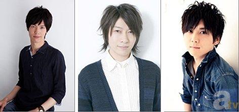 ▲左から西田雅一さん、小野大輔さん、梶裕貴さん