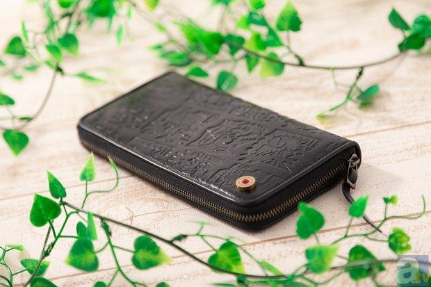 モンスターのアイコンが施された『モンハン』コラボ財布が登場!