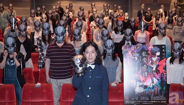 『乱歩奇譚』又吉直樹さん登壇の1・2話先行上映会より公式レポ公開