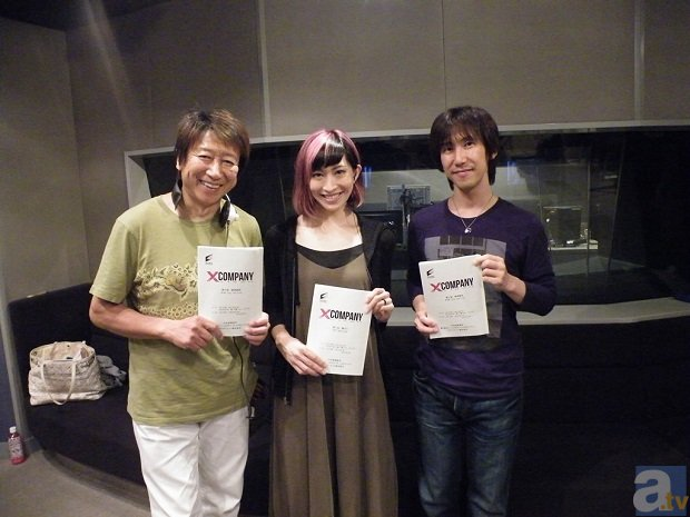 『Xカンパニー』平川さん・名塚さん・井上さんからコメントが到着