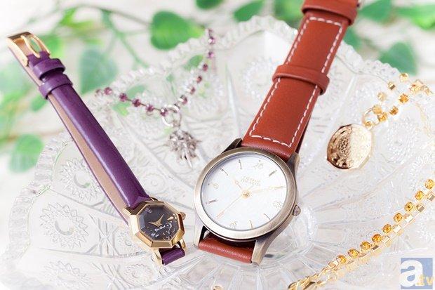 テイルズ オブ シリーズよりルークとユーリのコラボ腕時計発売