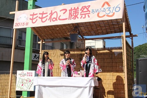 福井さん・儀武さん・広橋さん、ももねこ様に祈願する奇祭へ! 「ももねこ様祭」&「桜田麻音ステージショー」公式レポ到着-2