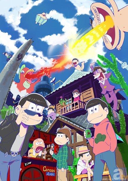 ▲TVアニメ『おそ松さん』より