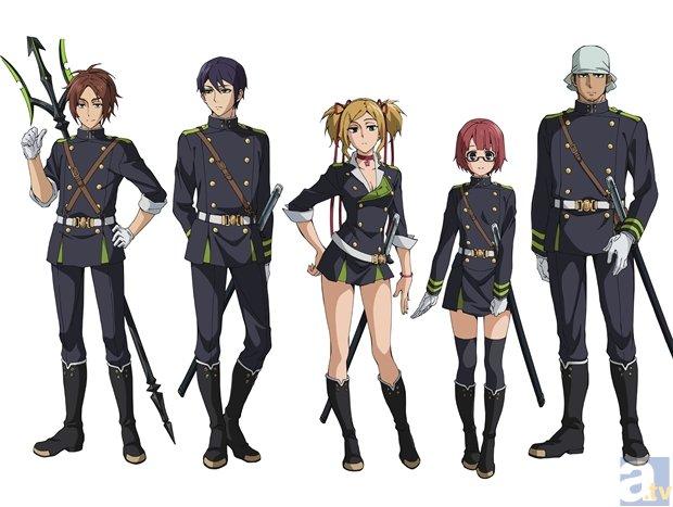 TVのアニメ『終わりのセラフ』第2クール追加キャスト・PVが公開