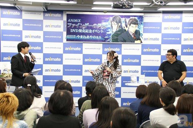▲左より、アニメイト販促部・大工園さん、やまね先生、制作プロデューサー・菊池さん