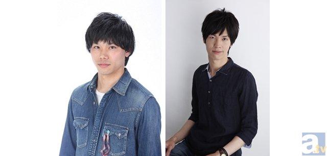 <b>▲左:竹内栄治さん(穂高夏生役)右:西田雅一さん(如月斗真役)</b>