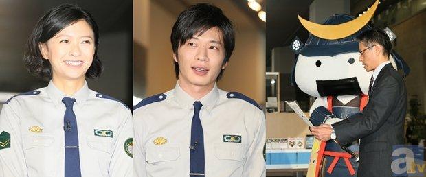 映画『図書館戦争』岡田准一さんらキャストが、ロケ地・仙台へ凱旋