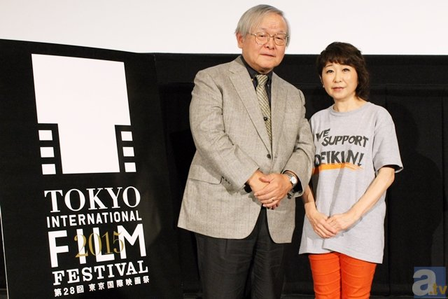 東京国際映画祭「ガンダムとその世界」安彦良和監督トークレポ