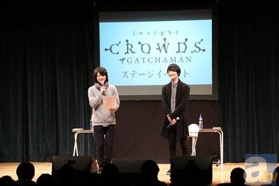 『ガッチャマンクラウズ』キャストが大演説!?【AGF2015】