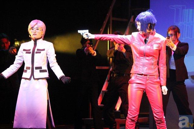 素子が! バトーが! 現実世界に飛び出した!? 舞台『攻殻機動隊ARISE:GHOST is ALIVE』ゲネプロレポート!