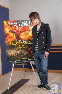 前野智昭さん、公開直前の『ハンガー・ゲーム』完結編を語る