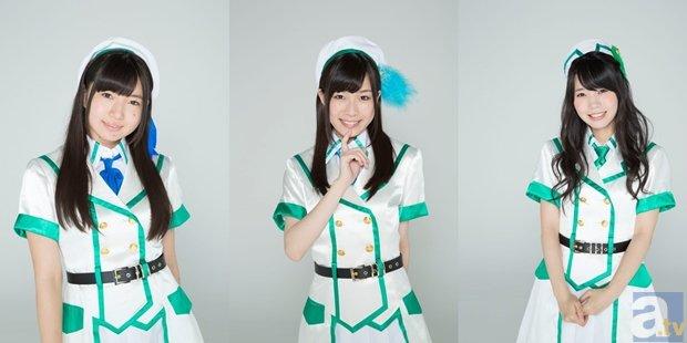 ▲左から永野愛理さん、青山吉能さん、奥野香耶さん
