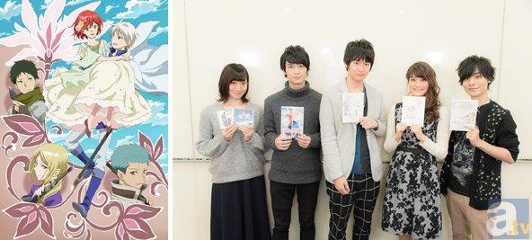TVアニメ『赤髪の白雪姫』第2期メインキャスト陣よりコメント到着