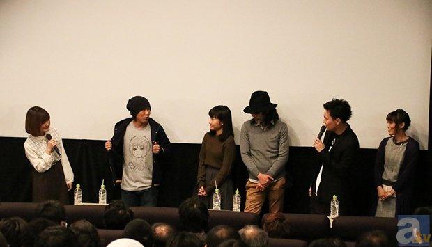 ▲左から種﨑さん、加瀬さん、木戸さん、咲野さん、鈴木さん、日笠さん
