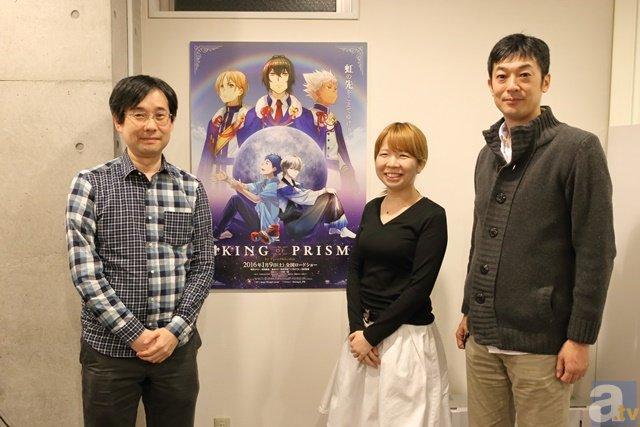 ▲左から依田さん、西さん、菱田監督