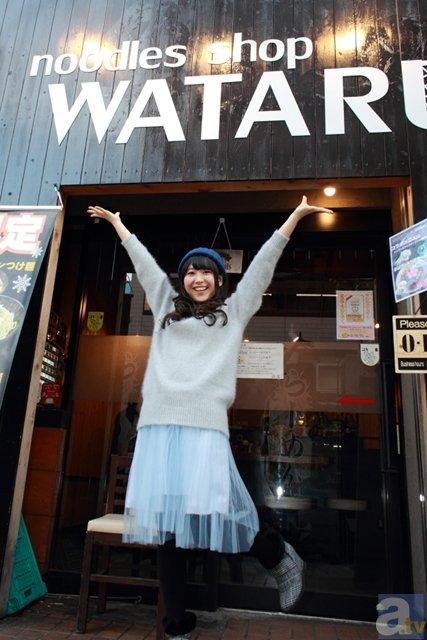 ▲noodles shop WATARUはこちらの看板が目印。