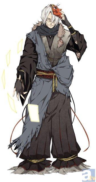 <b>▲京極夏彦先生キャラクターデザイン</b>
