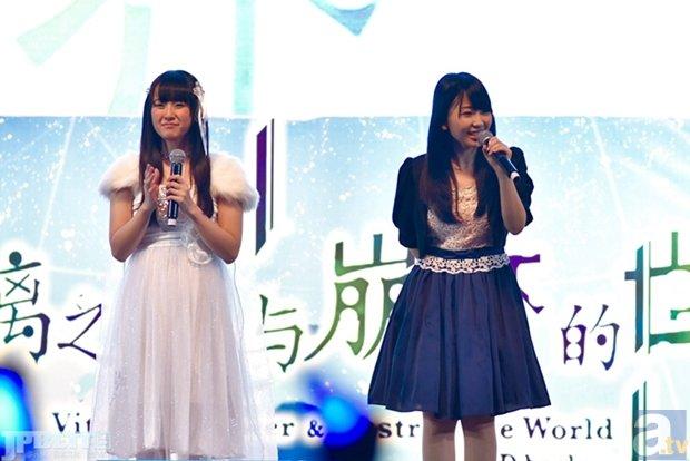 ▲上海(中国)の宛平劇場での舞台挨拶の様子