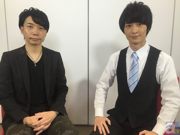 ▲アニメイト限定盤では梅原さんと諏訪部さんのSPECIAL対談も収録!!