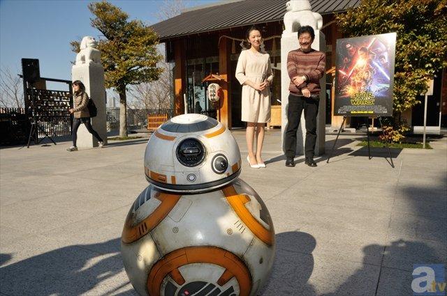 BB-8も! 『スター・ウォーズ/フォースの覚醒』大ヒット奉告祭