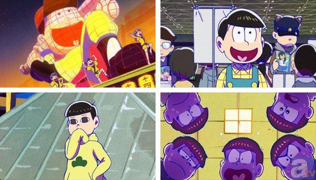 TVアニメ『おそ松さん』第17話「十四松まつり」を【振り返り松】