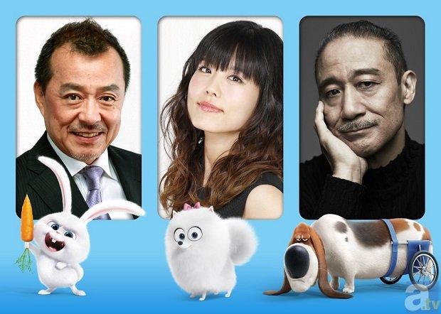 映画『ペット』の日本語吹替え版に豪華声優陣の参加が決定!