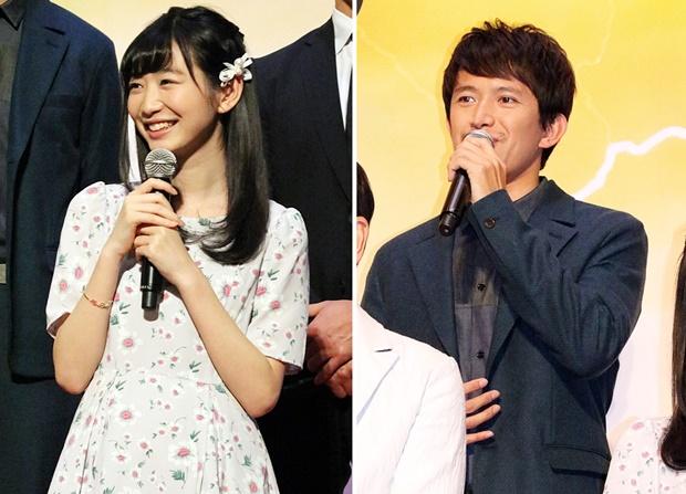 ▲立花麻由役 岡本夏美さん(写真左)、ウルガ役 阿部力さん(写真右)