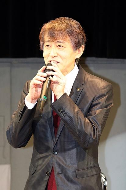 ▲白倉伸一郎さん(製作プロデューサー/東映株式会社取締役)