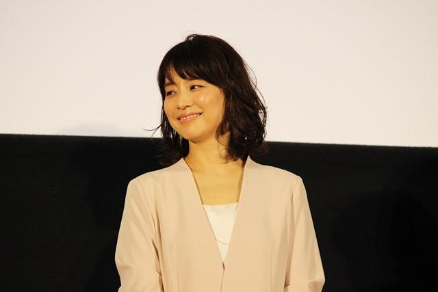 ▲石田ゆり子さん(藤沼佐知子役)