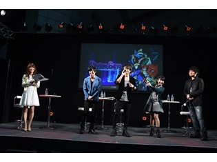 声優・柿原徹也さん、中村悠一さんら登場のTVアニメ『ディバインゲート』AJ2016ステージ詳細レポート