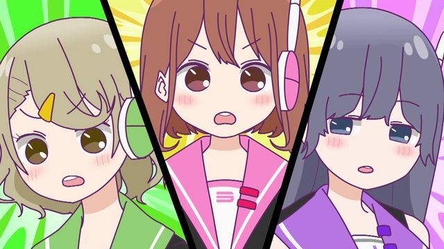 『美少女遊戯ユニット クレーンゲール』第一話先行場面写真到着!