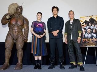 伊藤英明さん、約20kgの衣装でCGの敵相手に大奮闘!? 映画『テラフォーマーズ』特別試写会より公式レポート到着