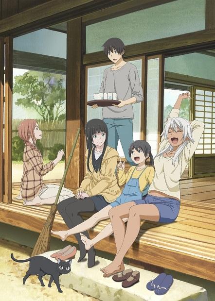 アニメ『ふらいんぐうぃっち』が青森県弘前市とのコラボ第4弾を発表