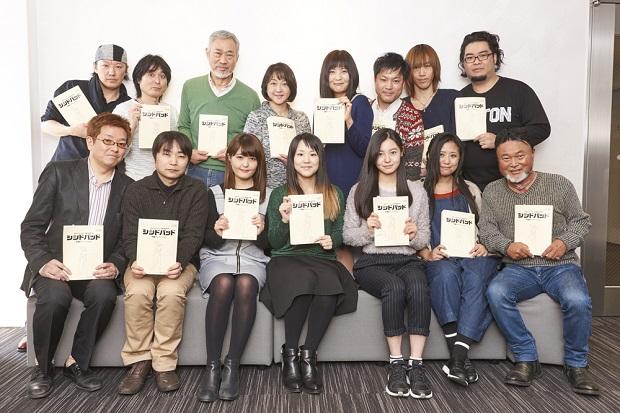 映画『シンドバット』村中知さんらによるアフレコインタビュー第1弾