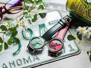 「プレミアムバンダイ」から『TIGER & BUNNY』の虎徹とバーナビーをイメージした高級感溢れる腕時計が発売決定!