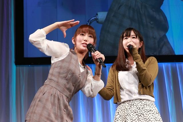 ▲左:日笠陽子さん 右:茅野愛衣さん